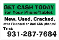 Sell you phone for the most! Crossville