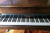 brown and white upright piano Bowie, 20720