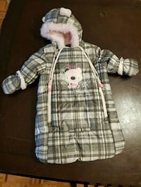 Snow suit (for car seat/stroller)