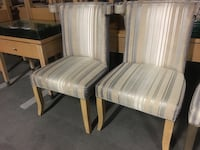 """Lazar Wing / Dining Chairs $1300 new each! FREE DELIVERY  $300 for the pair or $170 each 23.5"""" wide x 25"""" front to back 38 1/4"""" high Palo Alto, 94301"""