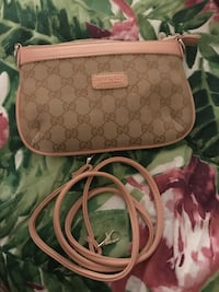 brown monogram Coach leather wristlet Palm Springs, 33406