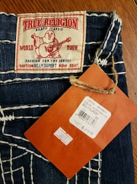True Religion Billy Super T Jeans Size 25 & 26