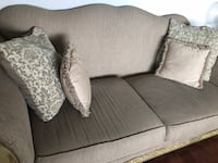 gray fabric 2-seat sofa Toronto