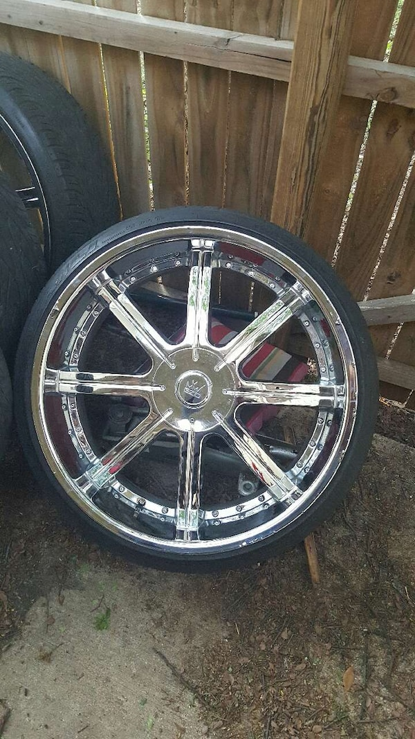 Used 24 Inch Rims For Sale For Sale In Fort Worth Letgo