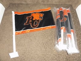 BC Lions car flags