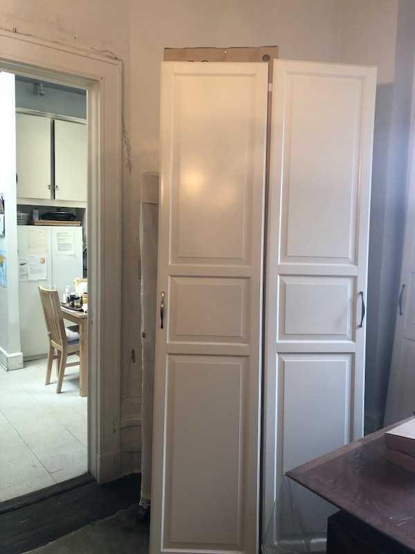 5 Ikea Pax Doors like new