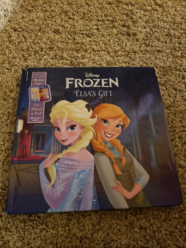 Disney Frozen Elsa's Gift Book 0