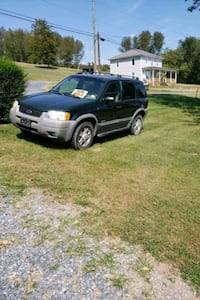 2001 Ford Escape Silver Spring