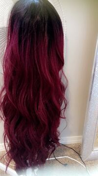 Lace front wig ear to ear with baby hair -brand new- never been worn. Edmonton, T6L 2A2