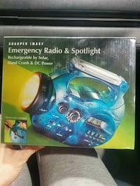 Electric Blue Emergency Radio & Spotlight Fairfax, 22032