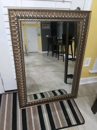 rectangular brown wooden framed mirror Woodbridge, 22193