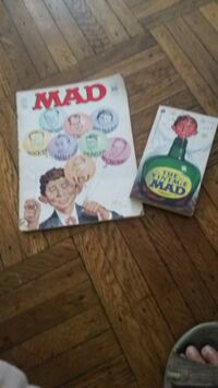 Vintage mad magazine Oct 68, the vintage mad paper Rutherford, 07070