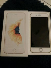 gold iPhone 6s with box 46 km