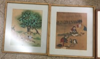 Paintings with frame (2) Woodbridge, 22191