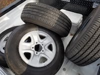 Tires and rims with 534 miles