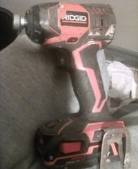red and black Milwaukee cordless drill Fullerton, 92832