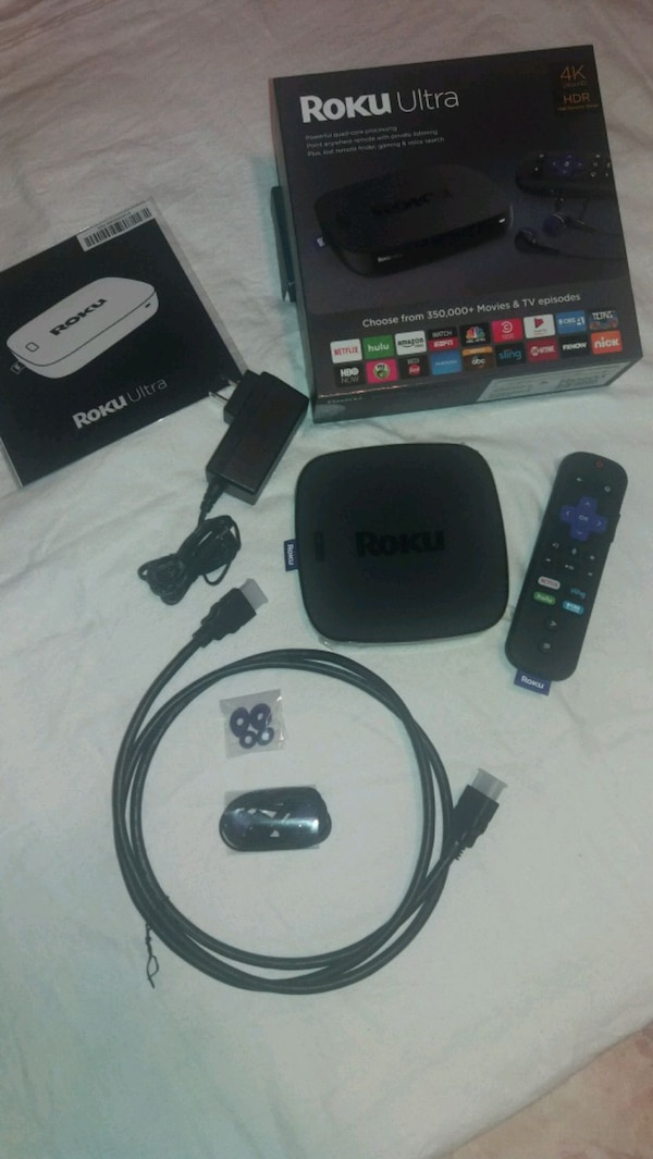 Roku Ultra with new voice remote