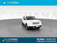 2015 Jeep Patriot suv Latitude Sport Utility 4D White Brentwood