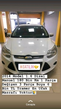 2014 Ford Focus TREND X 1.6I 125PS 4K