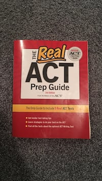 The Real Act Prep guide book Smithfield, 02917