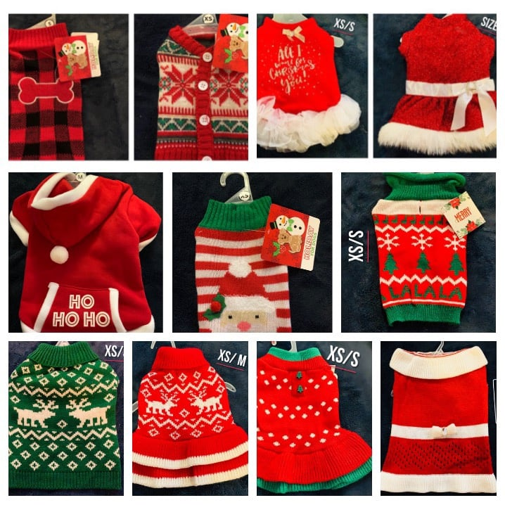 Sale on pet Christmas clothes