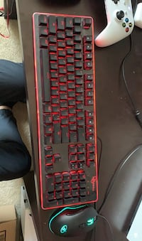 Rosewell gaming keyboard and mouse