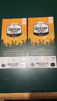 two black and yellow tickets Edmonton, T6L 2C3