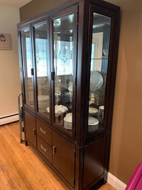 Dining room set ...table, chairs, china cabinet, server cabinet Hatboro, 19040