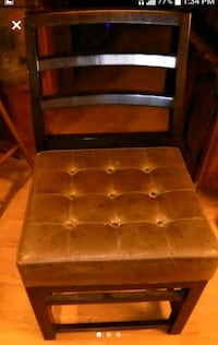 Leather Chairs 3 For $25 Or $10 Each  Las Vegas
