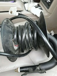 I believe this is a air hose from a air compressio 1123 mi