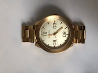 Gold Nixon watch