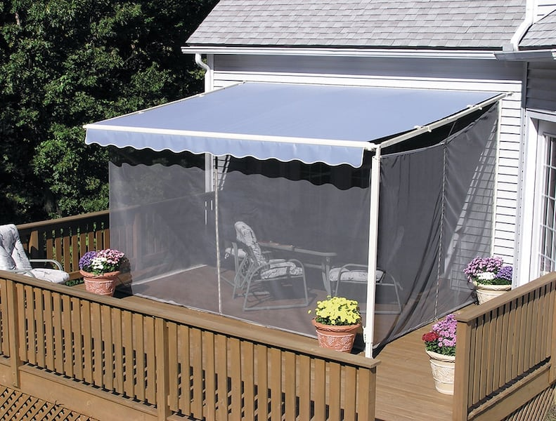Used PRICE REDUCED! Sun setter Screen Room Size 1016 for ...