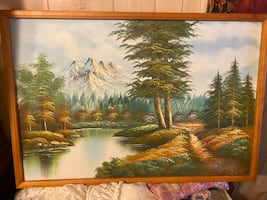 Beautiful Hand Painted Oil Picture
