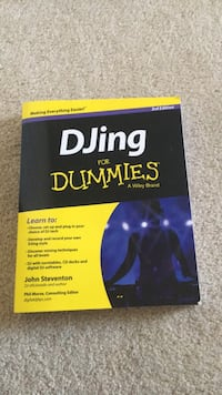 DJing for Dummies ed 3 Clarksville, 21029