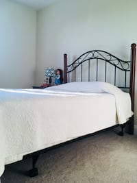 Great bed frame and headboard including mattress Lynchburg, 24502