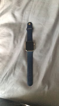 apple watch series 2 42mm gold and midnight blue