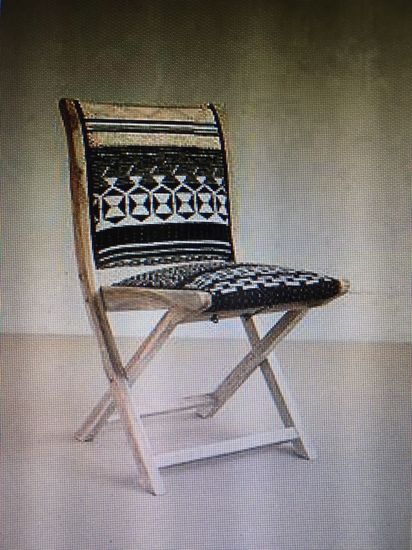 Pleasant 4 Anthropologie Terai Folding Chairs Onthecornerstone Fun Painted Chair Ideas Images Onthecornerstoneorg