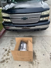Stock headlights and tail lights off this 2006 chevy silverado