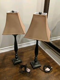 Two Tall Table Lamps For Sale Vaughan, L0J