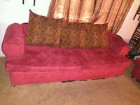 red and black floral fabric sofa Columbia, 29223