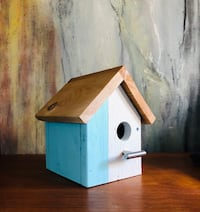 Modern Blue White Birdhouse North Vancouver, V7M 2H1