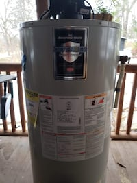 50 Gallon Natural Gas Water Heater , 07462