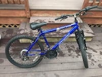 blue and black hardtail mountain bike Germantown, 20874