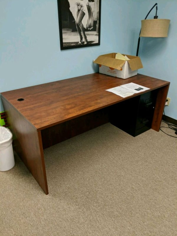 Well Made Office Desk 72 Inches Wide