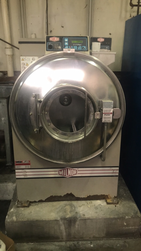 Milnor E-P plus commercial washer