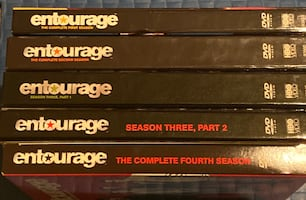 ENTOURAGE FULL DVD SET MINT