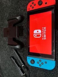 Nintendo Switch Neon red blue game console Chantilly, 20151