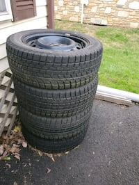 4 all 4 Rims and tires Blizzak Revo 1 215/55 R16 came off a Chevy Morrisville, 19067