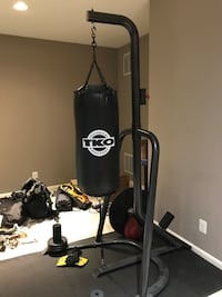 Heavy bag and stand
