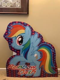 Rainbow Dash My Little Pony cardboard cut out party decoration Centreville, 20120